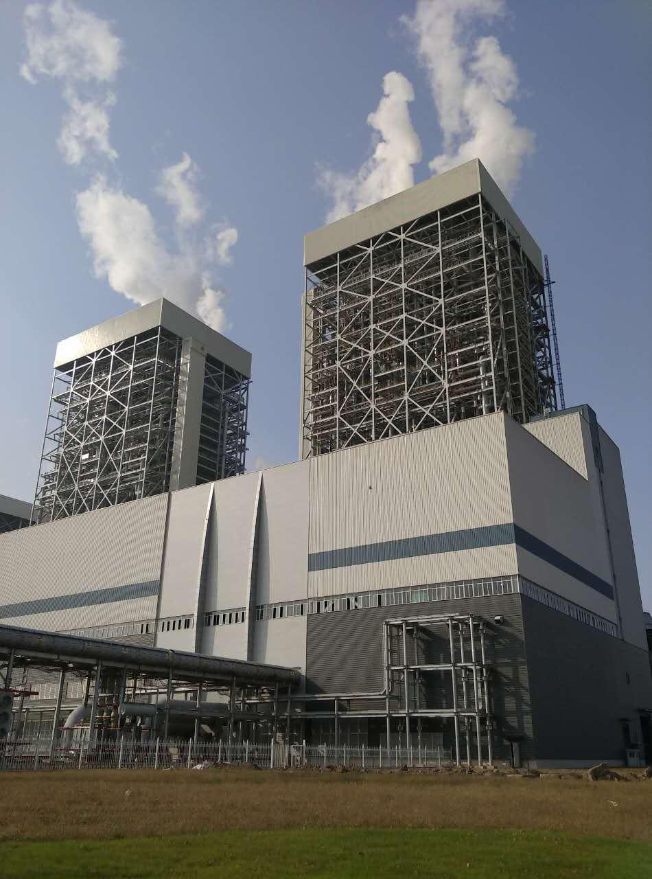 华东院公司设计的国电泰州电厂二期工程百万千瓦二次再热4号机组投产图片